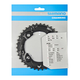 Shimano SLX FC-M675 Kettenblatt schwarz
